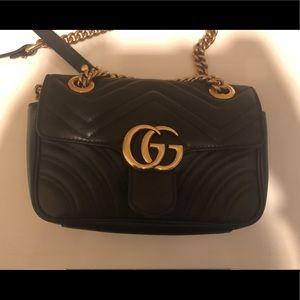 GG Marmount mini bag black